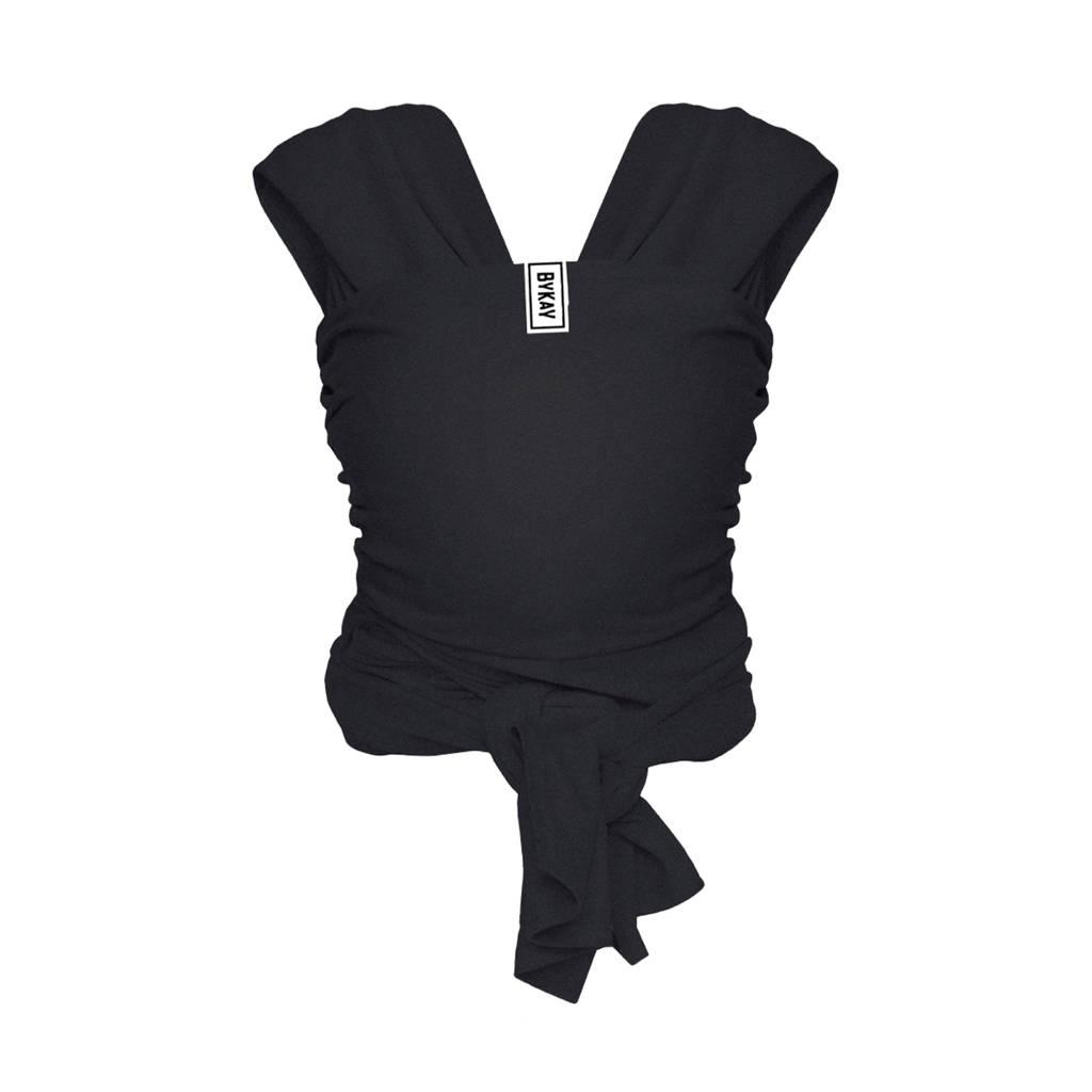 ByKay Stretchy Wrap Deluxe draagdoek zwart M, Zwart