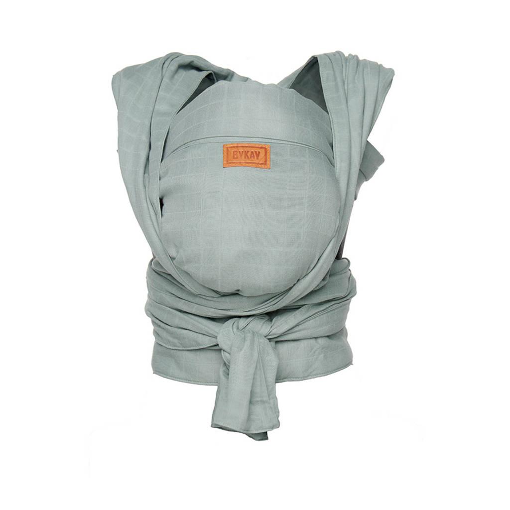 ByKay newborn halfbuckle draagdoek minty grey, Minty grey