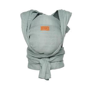newborn halfbuckle draagdoek minty grey