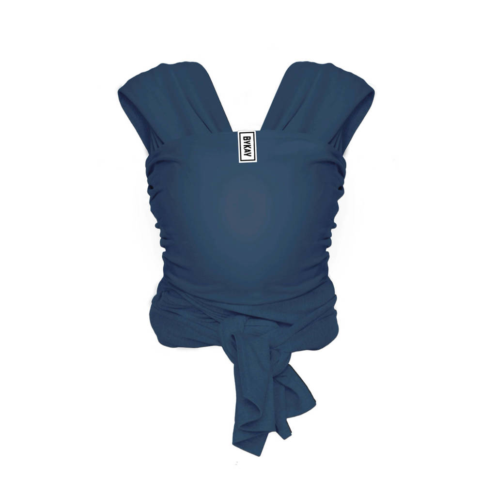 ByKay Stretchy Wrap Deluxe draagdoek jeans blue M