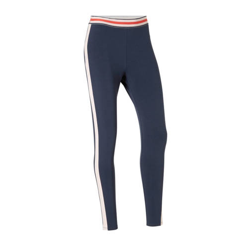 ESPRIT Women Sports 7-8 sportbroek donkerblauw-roze