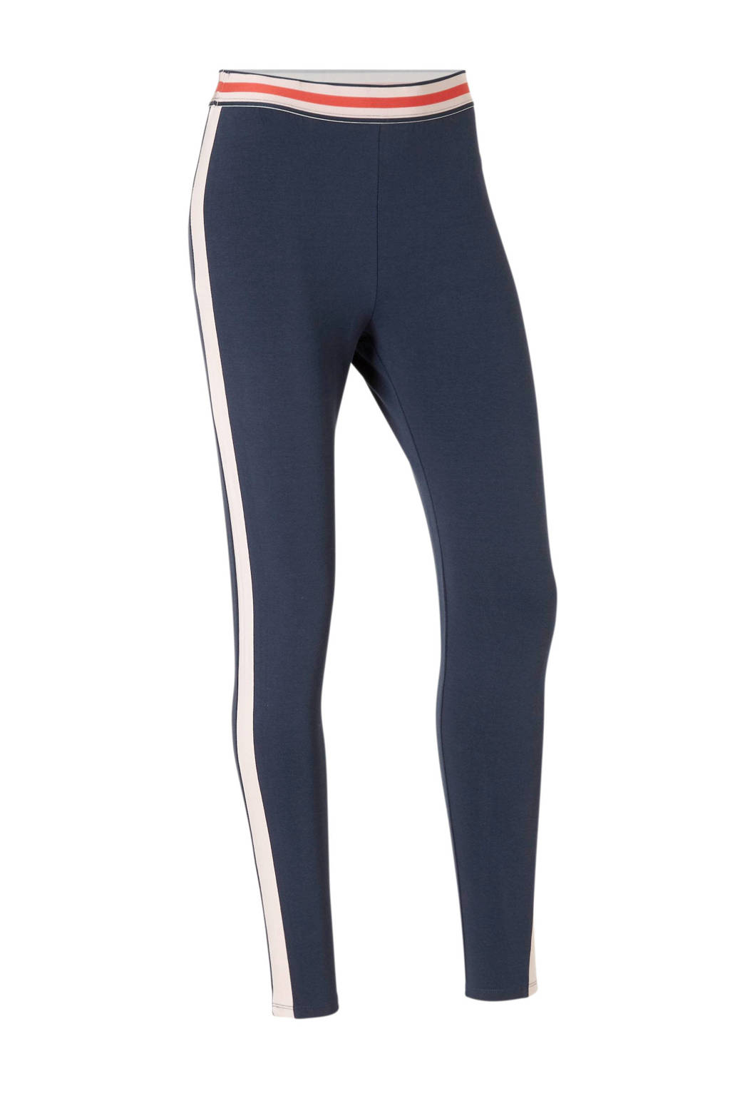 ESPRIT Women Sports sportbroek, Donkerblauw/roze/rood