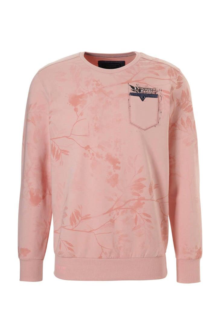 print GABBIANO sweater GABBIANO met roze print met sweater vUYSxw8