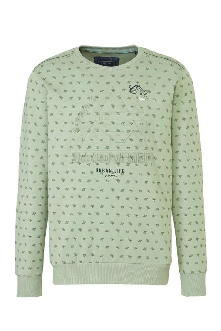 sweater GABBIANO met print GABBIANO sweater print GABBIANO sweater met pURy4FUwqB