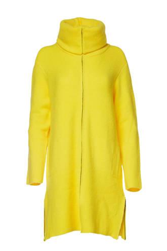 Mart Visser vest met wol geel