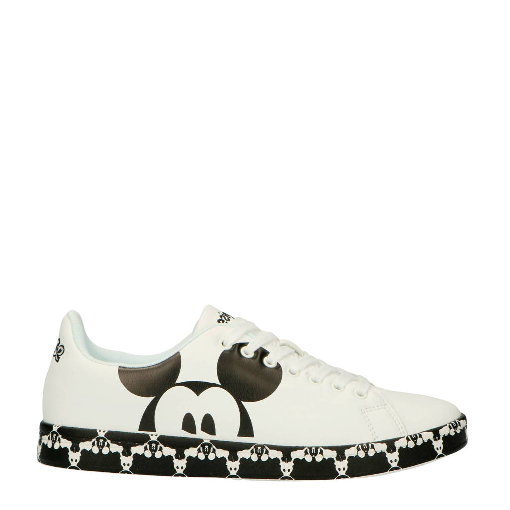 Mouse Cosmic Sneakers Mickey Desigual Wit zwart Ena1qpxzw