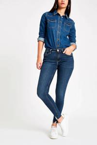 River Island Amelie skinny jeans dark auth, DARK AUTH