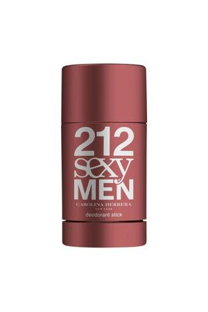 Carolina Herrera 212 Sexy Men deodorant stick - 75 ml