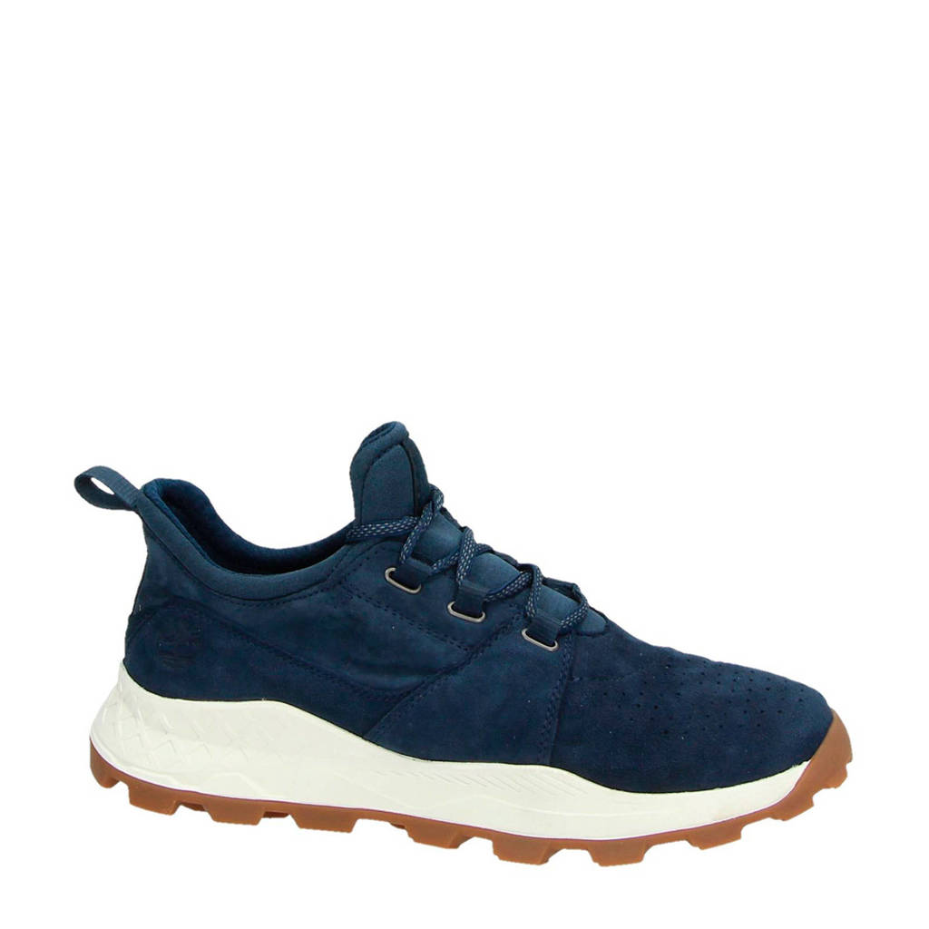 Timberland  Brooklyn Oxford suède sneakers donkerblauw, Blauw