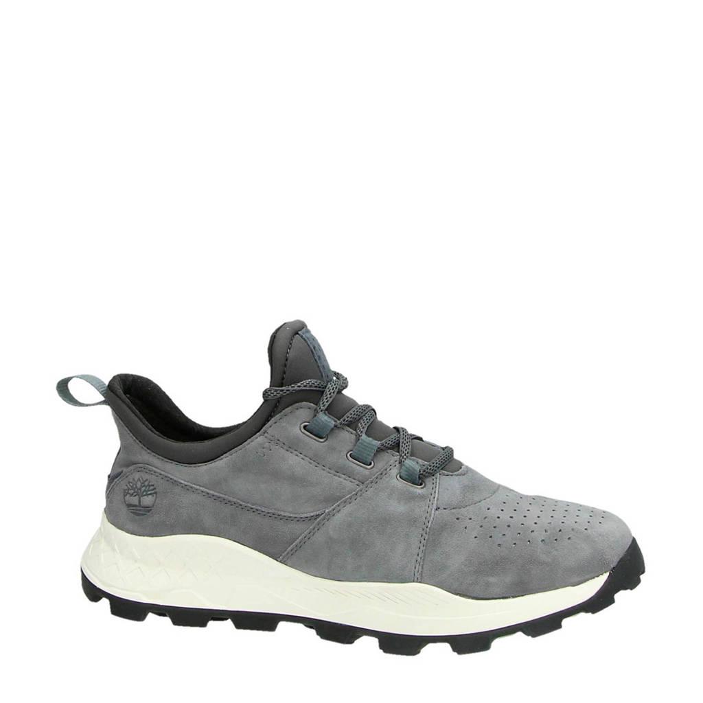 Timberland  Brooklyn Oxford suède sneakers grijs, Grijs