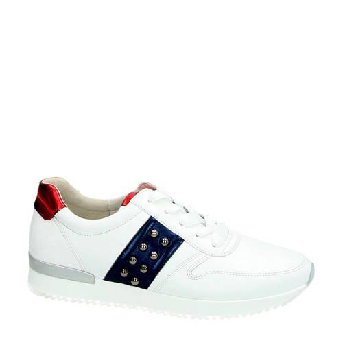 Gabor leren sneakers wit