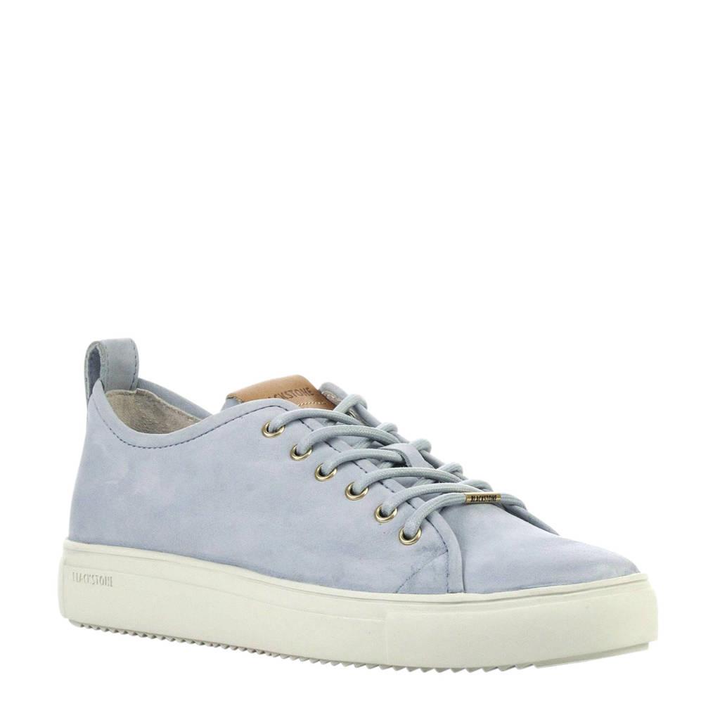 Blackstone  nubuck sneakers lichtblauw, Blauw