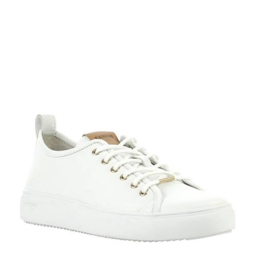 Blackstone PL97ld leren sneakers wit