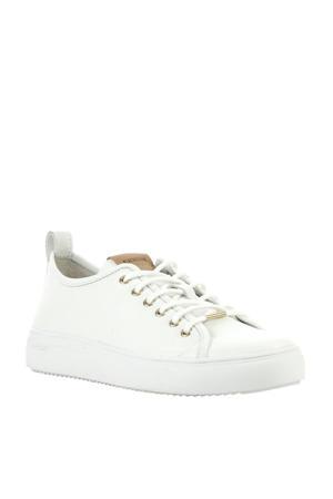 PL97ld leren sneakers wit