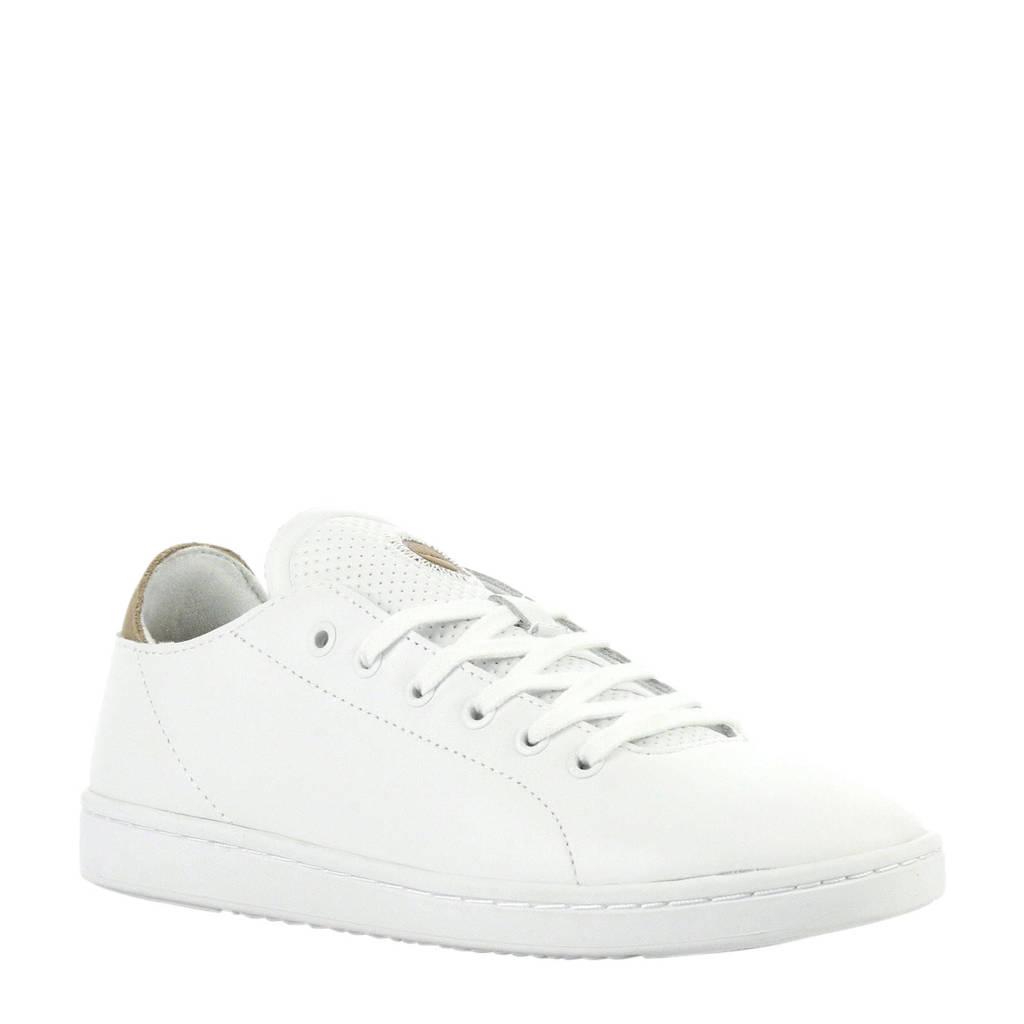 Woden  Jane leren sneakers wit, Wit