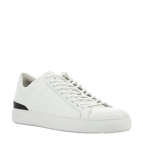 Blackstone leren sneakers wit