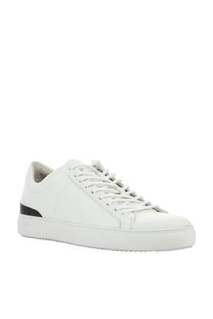 PM56  leren sneakers wit