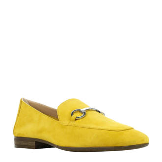 Durito suède loafers geel