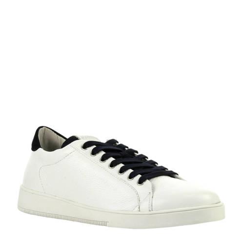 Blackstone leren sneakers wit kopen