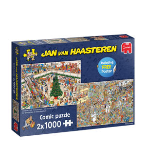 Holiday Shopping 2in1  legpuzzel 1000 stukjes