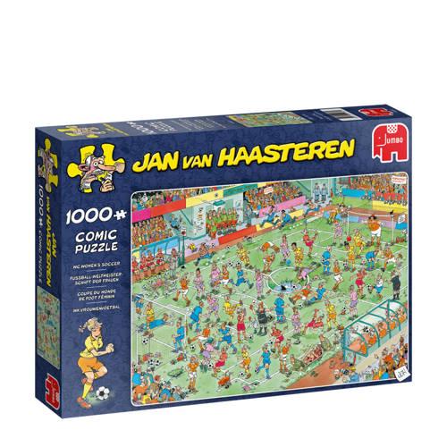 Wehkamp-Jan van Haasteren WK Vrouwenvoetbal legpuzzel 1000 stukjes-aanbieding