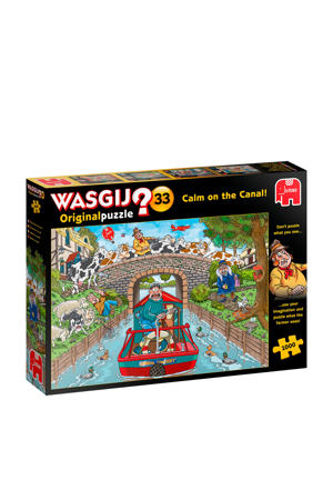 Original 33 Calm on the Canal  legpuzzel 1000 stukjes