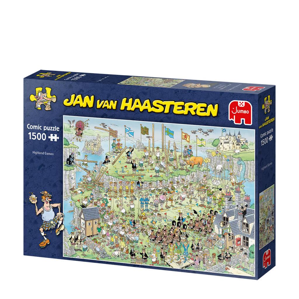 Jan van Haasteren Highland Games  legpuzzel 1500 stukjes