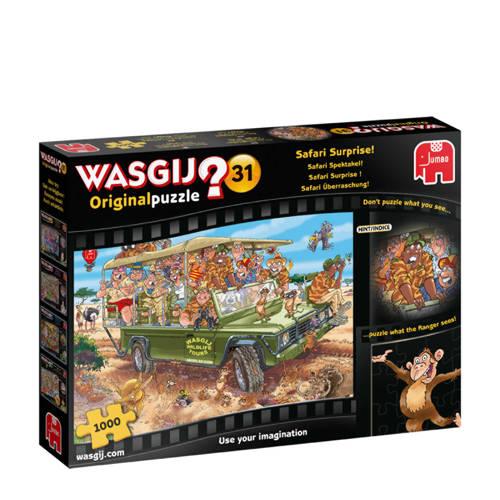 Jumbo Wasgij Original 31 Safari Spektakel legpuzzel 1000 stukjes kopen