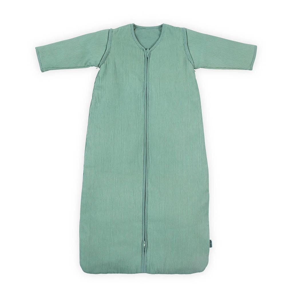 Jollein Rib baby slaapzak 4 seizoenen 70 cm groen, Groen