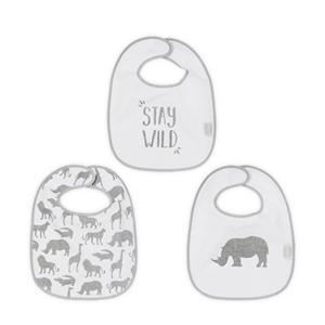 Safari slab stone grey - set van 3