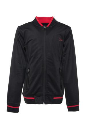 Dutchy   sportvest zwart/rood