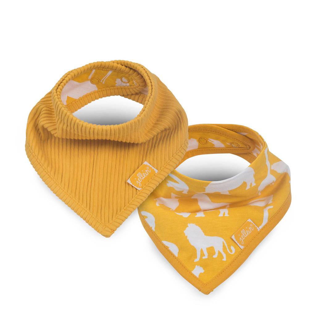 Jollein Safari bandana slab ocher - set van 2, Oker