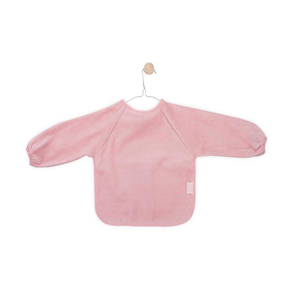 Jollein waterproof slab met mouw blush pink, Roze