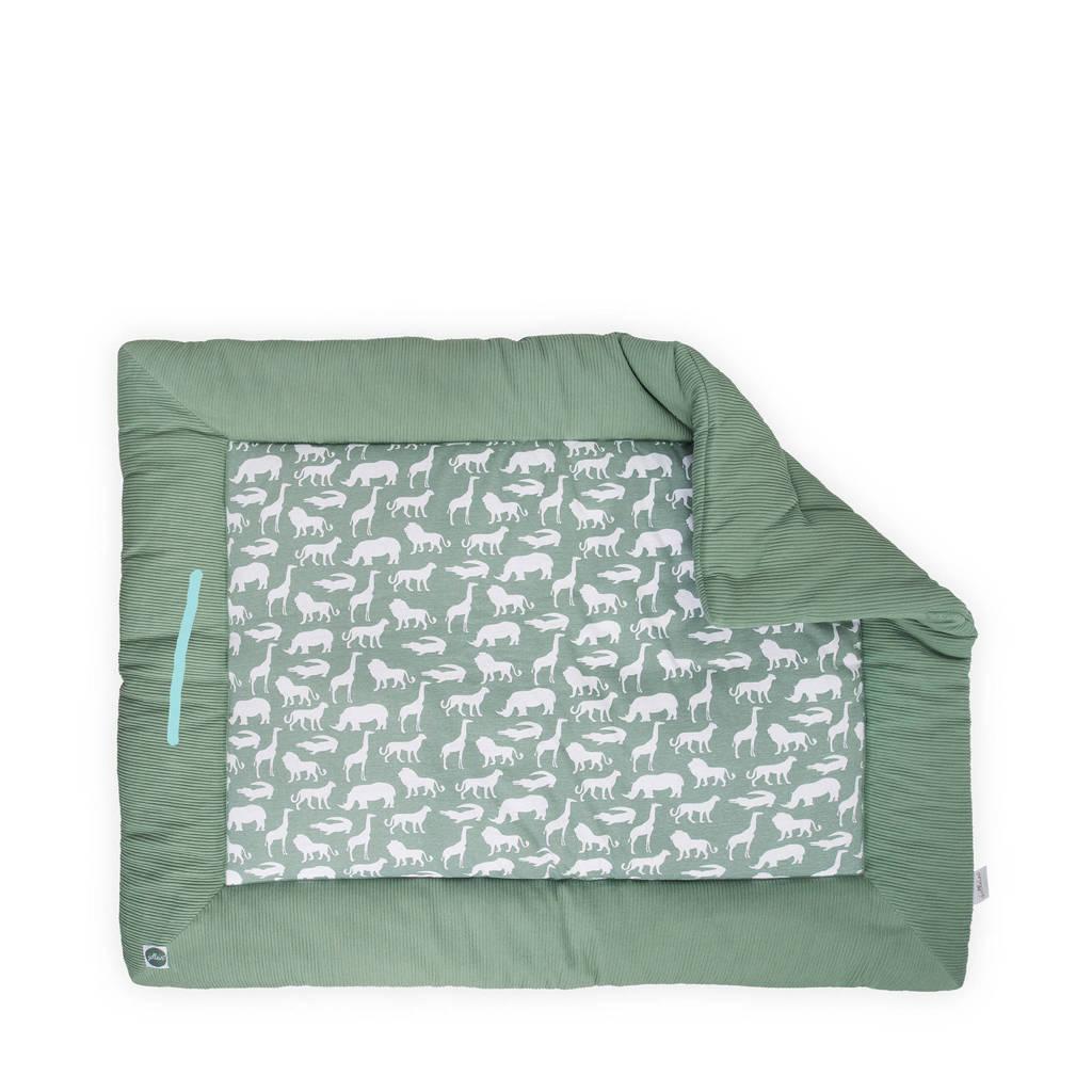 Jollein Safari boxkleed 80x100 cm, Groen