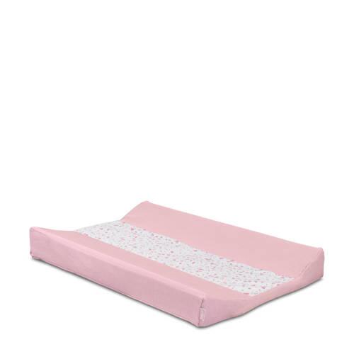 Jollein Tiny waffle aankleedkussenhoes 50x70 cm soft pink kopen