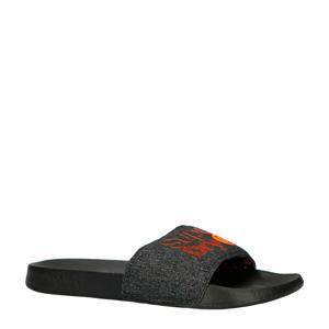 Lineman Pool Slide  badslippers grijs/oranje