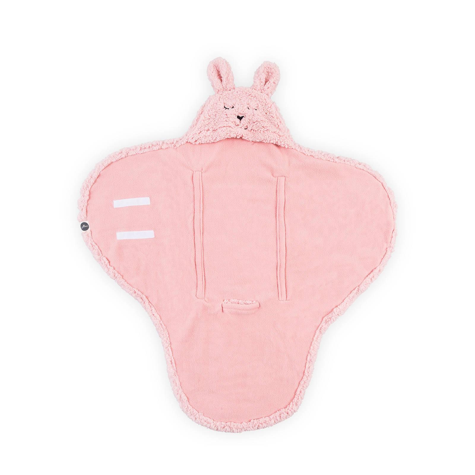 a3cf09c9399 Jollein Bunny wikkeldeken roze | wehkamp