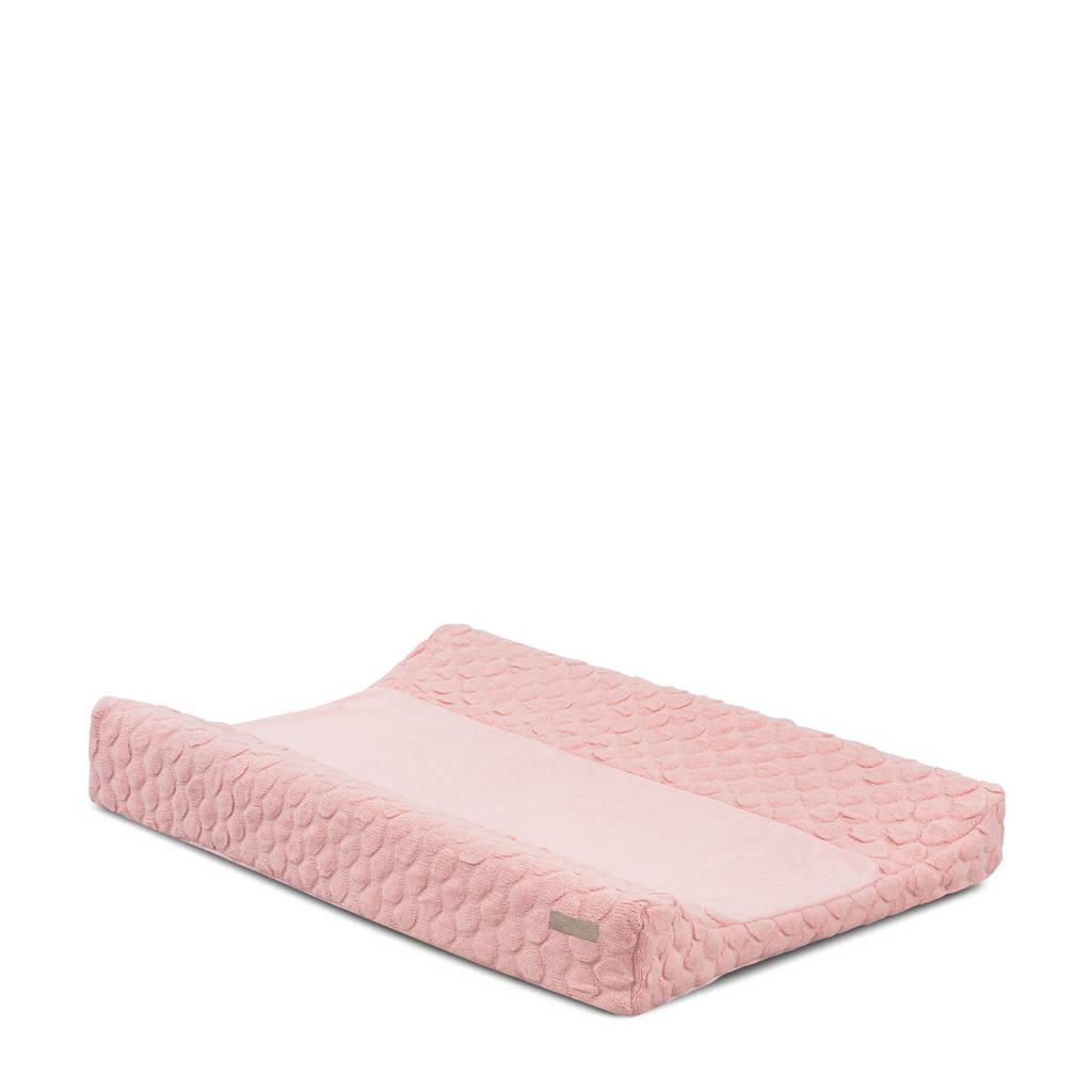 Jollein Fancy knit aankleedkussenhoes 50x70 cm blush pink, Roze