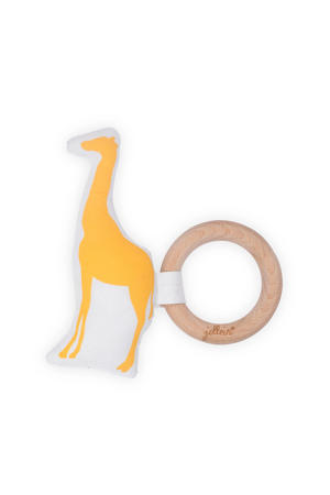 Safari bijtring Ø 7 cm ocher
