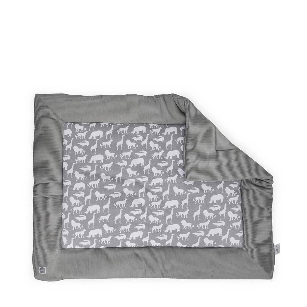 Jollein Safari boxkleed 80x100 cm, Grijs