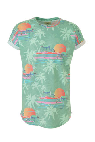 T-shirt met all over print