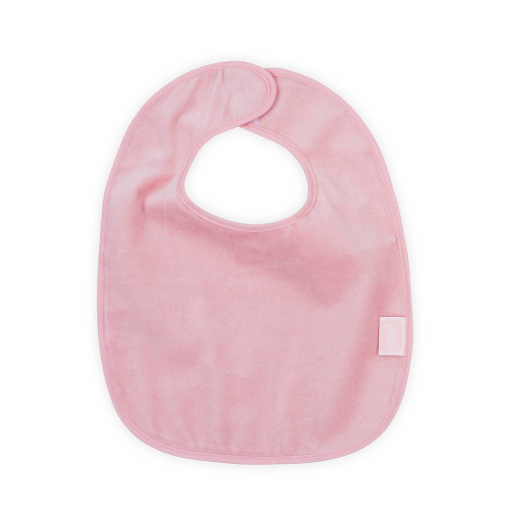 Jollein waterproof slab velvet blush pink, Roze