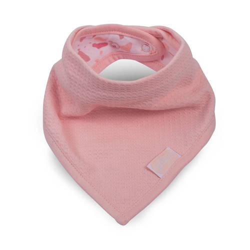 Jollein Tiny waffle bandana slab soft pink kopen