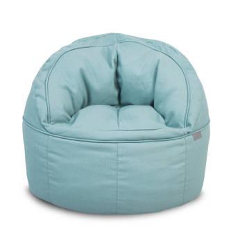 zitzak fauteuil blauw