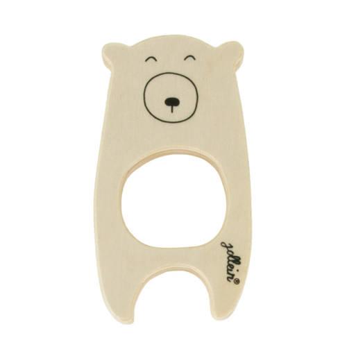 Jollein houten bijtring beer kopen