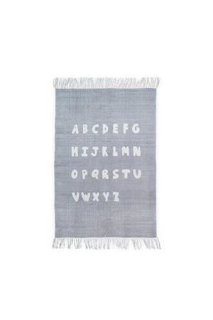ABC vloerkleed (90x130 cm) soft grey  (90x130)