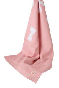 Jollein ABC hydrofiele doek XL 140x200 cm, Roze