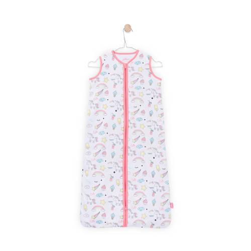 Jollein Unicorn zomer slaapzak 110 cm wit/roze kopen