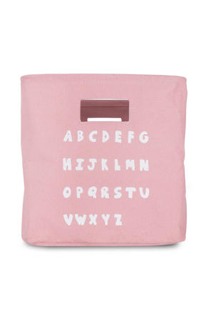 ABC opbergmand blush pink