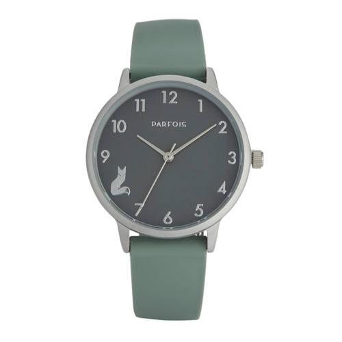 Parfois horloge lichtgroen kopen